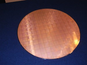 Intel 7400 series wafer