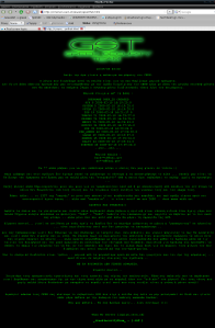 CERN website defaced